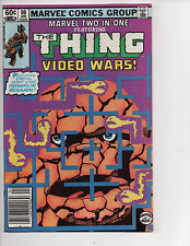 Marvel Two-in-One #98 (4/83) F/VF (7.0) Thing! Video Wars! Great Bronze Age!