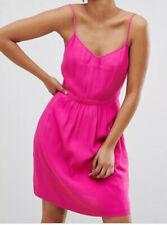 BNWT J CREW MERCANTILE HOT PINK CAMI DRESS - Size 14