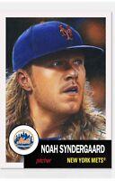 2018 Topps Living Set Card #50 Noah Syndergaard New York Mets