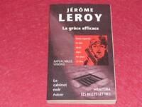 [BIBLIOTECA H.& P J. OSWALD] DESPACHO NEGRO # 35 J. LEROY LA GRACE EFICAZ 1999