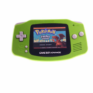 Game Boy Advance Game w/ AGS-101 Brighter Backlight Screen Backlit - Apple Green