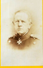 c1870 Moltke Helmuth Karl Bernhard Militär Preußen Original-Photo cdv Stolze