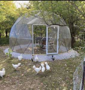 20ft animal  dome Outdoor pen enclosed with mesh