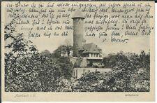 Ansichtskarte Auerbach im Vogtland - Schloßturm - 1935 - schwarz/weiß