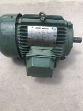 Leeson Electric Motor 3 HP Watt Saver