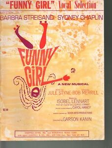 Funny Girl Vocal Selections Sheet Music