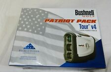 New Bushnell Tour V4 with Jolt Technology Laser Golf Rangefinder V 4 Patriot