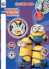 OFFICIAL DESPICABLE MINIONS CHILDRENS CREATIVE ACTIVITIY REUSEABLE STICKER PAD