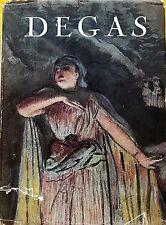 Degas Ars Mundi 1953 colour, black & white plates used hardback dust jacket