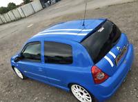 Renault Clio 172 182 192 Sport Estilo Vinilo Rayas Gráficos de Coches Adhesivos