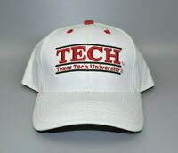 Texas Tech Red Raiders The Game Split Bar Unisex Adult Snapback Cap Hat - NWT