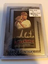 2016 Allen & Ginter - X (online Exclusive) Mini Silver Ink Auto : Miguel Castro