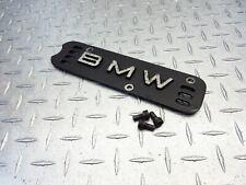 1987 Bmw 85-95 Bmw K75S K75 Spark Cover Emblem Left Bolts Oem Engine Motor Oem