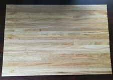 Dollhouse Miniature Wood Flooring Wide Planks Light Oak Gloss Finish 18