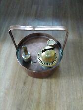 Antique copper lamp heater