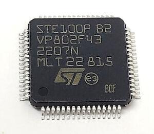 1 piece STE100P 10/100 FAST ETHERNET 3.3V TRANSCEIVER | TQFP64 | E-STE100P