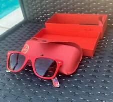 Ray Ban Wayfarer Red Special Series #11 Rare Prints Sunglasses & Case IB EUC FS
