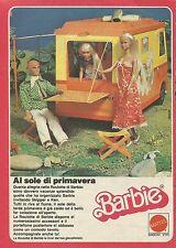 X1084 BARBIE - Roulotte - Mattel - Pubblicità 1980 - Advertising