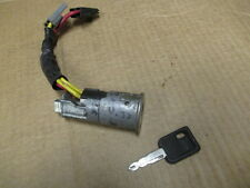 RENAULT CLIO - IGNITION LOCK BARREL & KEY 2X PLUGS 4X WIRES