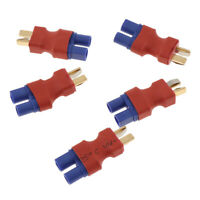5PCS EC3 Female to Deans Style T-Plug Male Converter for RC LiPo Adapter
