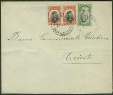 Greece/Bulgaria Occup. 1913 cover to Trieste/5st, 10st