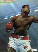 LARRY HOLMES JSA SIGNED 8X10 PHOTO AUTOGRAPH AUTHENTIC