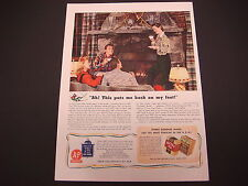 1942 A & P Food Stores Nectar Tea WWII Print Ad,Ah! That Puts Me Back on My Feet