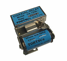 New Tohtsu CX-120A SPDT Miniature Coaxial Antenna Relay