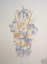 Moran; Floral Impression - flowers -signed & numbered