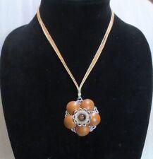 Brighton Almondine Pendant Necklace and Bracelet