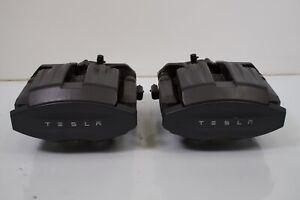 Tesla Model S (2016-2021) OEM Rear Integrated Brake Calipers 1078541-00-A