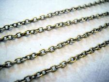 Bronze Chain BULK Chain for Jewelry Making Cable Chain Bronze Cable Chain 10 ft