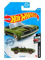 Hot Wheels 2020 '69 CAMARO 190/250 HW Roadsters 3/5 Mattel Diecast GHG06
