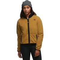 $120 NWT The North Face Dunraven Soft & Warm Sherpa Jacket, British Khaki, L