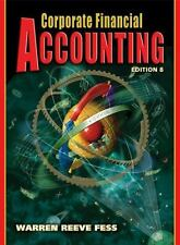 Corporate Financial Accounting by Philip E. Fess, Carl S. Warren and James M....
