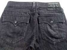 Men's True Religion Jeans 34 x 30 Ricky Relaxed Straight Leg in Grey RRP £200