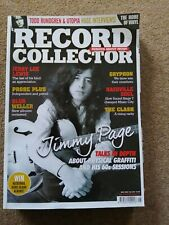 JIMMY PAGE Led Zeppelin The Clash Todd Rundgren RECORD COLLECTOR May 2015