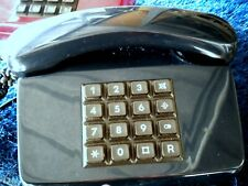 Antikes Telefon  01 LX, Telefonkabel TAE- Stecker dunkelblau, Deutsche Post Rar