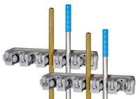 2 x Gerätehalter zu 11st Geräteleiste Besenhalter Werkzeugleiste Gerätehalterung