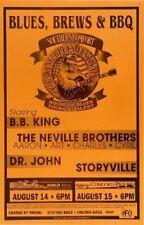 B.B. KING Original 1999 Southern Comfort Neville Brothers Dr. John Storyville