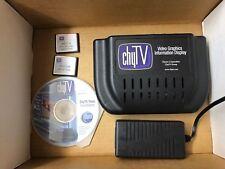 Chyron chyTV Video Graphics Information Display Chytv-Ip-N
