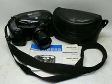 1990s Konica AiBORG 'Darth Vader' 35mm Film Camera 35-105mm Zoom Lens + Case