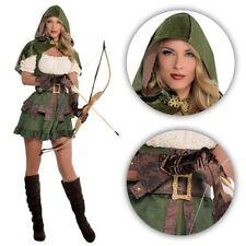 femmes médiéval ELFE Elven Archer Robin capuche Demoiselle Marion Pan