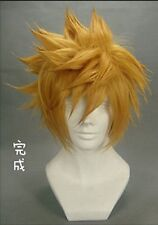 Kingdom Hearts II 2 1st Version Sora Cosplay Costume Wig