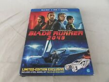 Blade Runner 2049 Blu-ray / Dvd w/Steel Model Vehicle Kit (Digital Code Expired)