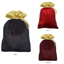 Favor Pouch Plain Potli Velvet Handmade Drawstring Wedding Party Gift Bag 25 Pcs