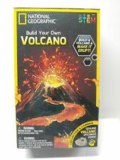 National Geographic Build Your Own Volcano BRAND NEW - STEM