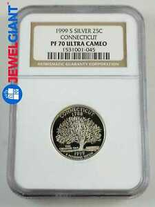 2001-S Clad Statehood Quarter Set NGC PF70 UCAM