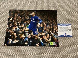 BECKETT COA CHRISTIAN PULISIC Signed Autographed 8x10 Photo Chelsea FC USA
