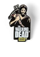 The Walking Dead Official Licensed AMC Show Enamel Pin Daryl Dixon Crossbow New